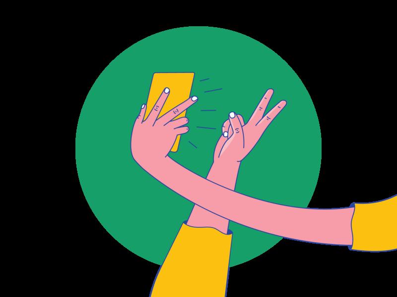 selfie selfie phone iphone phone selfie hands selfie hand fingers finger hand hands selfie design illustration