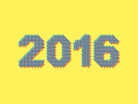 2016 Grid Font