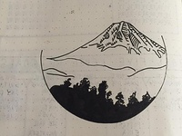 Mt.Fuji Drawing