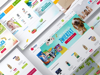 Amico Webdesign ecommerce design shopdesign website webdesign design brand system identity logo