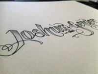 Lettering Practice