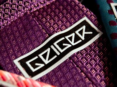 Geiger Neckwear - Label label logo tag clothing fashion brand