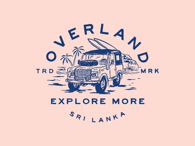 OVERLAND SRI LANKA BADGE