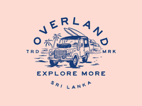 OVERLAND SRI LANKA BADGE