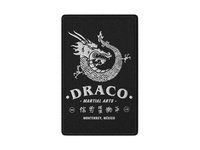 Draco Martial Arts / Patch Mockup