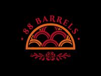 88 Barrels Logotype - Unused option