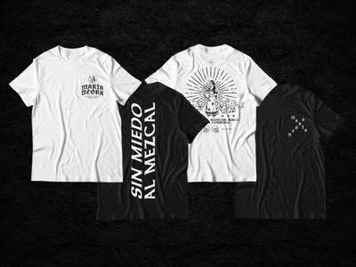 Mezcal María Negra T-shirts