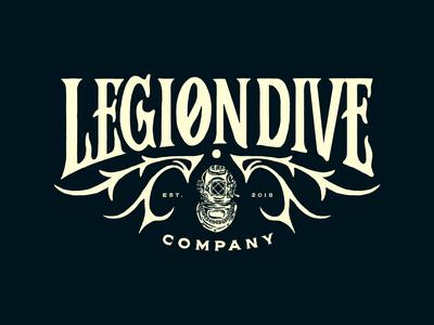 LEGION DIVE CO. / LOGO