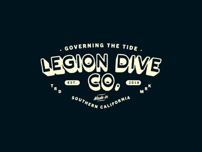 LEGION DIVE CO. / BADGE DESIGN
