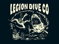 LEGION DIVE CO. / SHARK ATTACK DESIGN