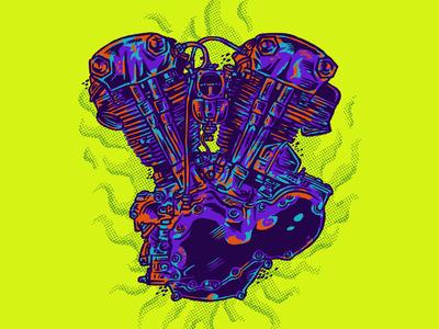KNUCKLEHEAD ENGINE