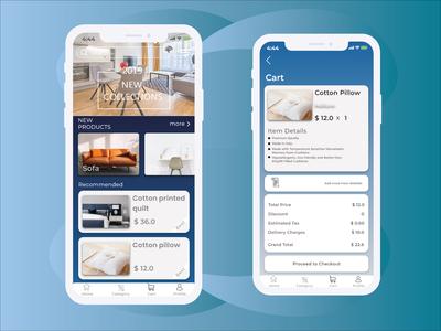 Furniture E-commerce App UI