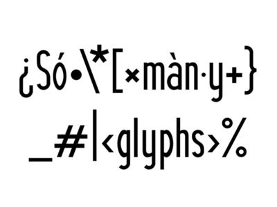 Vaageby Sans Typeface