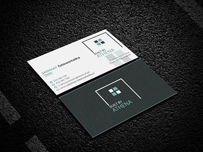 Business Card Design design vector illustration