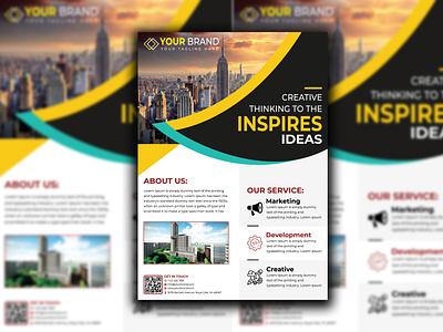 Flyer Design creative-business-card business card design template business card design typography branding flyer 2 vector design illustration flyer designer flyer design
