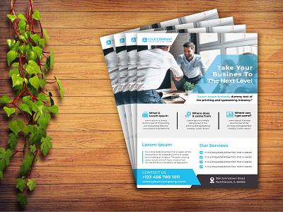 Flyer Design flyer 2 animation business card design typography creative-business-card business card design template vector design illustration flyer design template flyer design