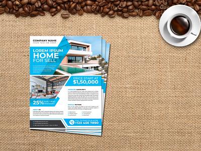Creative-Real-Estate-Flyer-Design poster graphic design design flyer branding