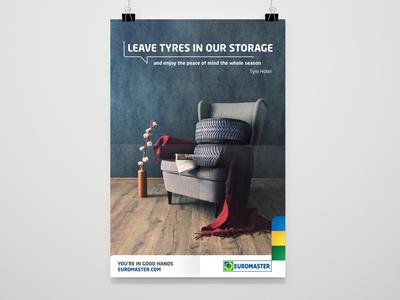 Tyre Hotel - Euromaster // Poster Design