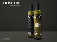 Olive Oil // Oliwa z oliwek // Concept // Packaging Design