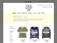 Webshop product page