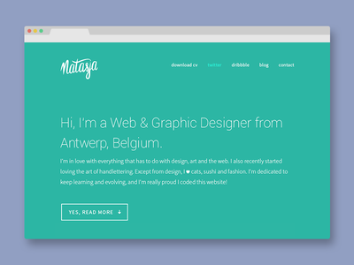New portfolio online portfolio responsive green logo webdesign online