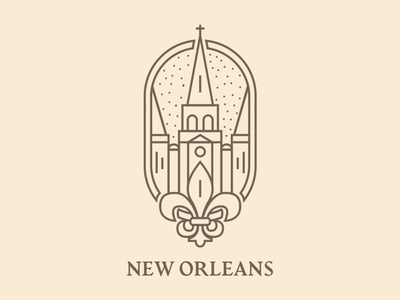 New Orleans Logo Concept