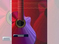 Guitar illustration 002