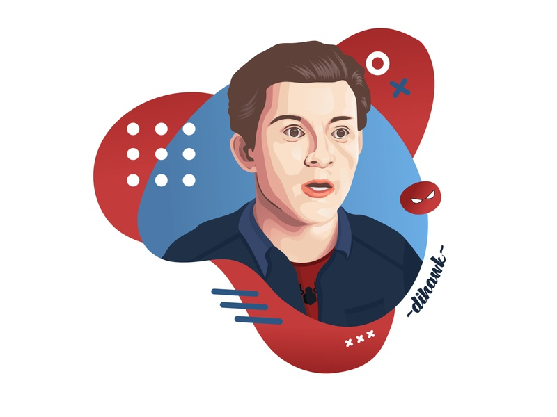 Tom Holland Vector
