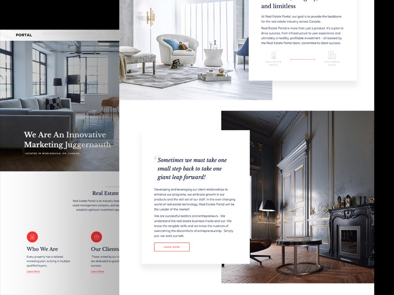Pavel Tahil / Projects / Real Estate Portal   Dribbble