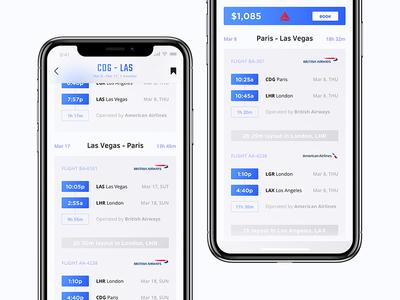 Heaven App - Round Trip Flight