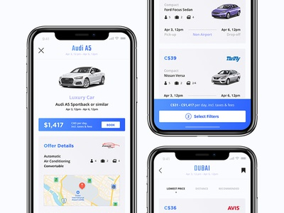 Heaven App - Car Rental