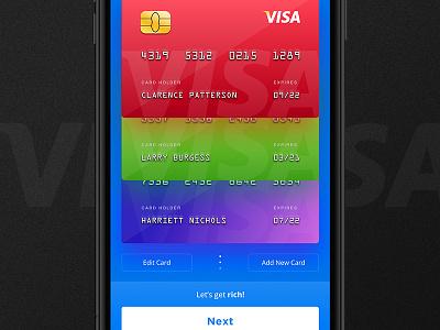 Stock Market App - Deposit Funds wallet ux ui token iphone ios visa design cryptocurrency crypto application app