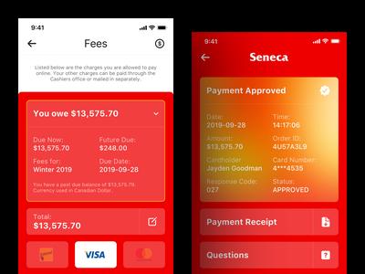 Seneca Payment Process