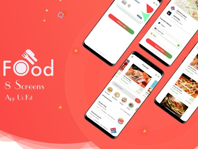 Food Mobile App UI Design