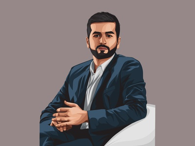 Kavin Bharti Mittal Vector Illustration