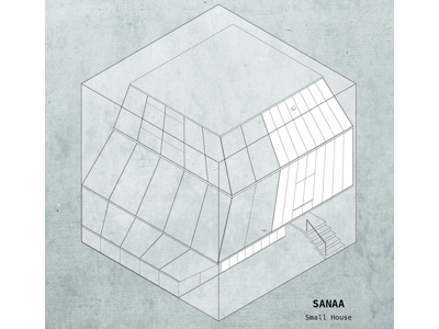SANAA - Small House 2nd of the famous architecture houses put in a cube sanaa house