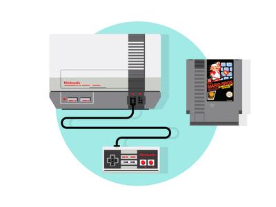 NES Classic 80s video game console retro gaming retro nes nintendo