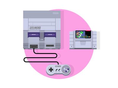 SNES Classic 90s super nintendo video game retro gaming retro nintendo snes console