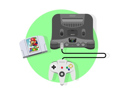 Nintendo 64 nintendo 64 n64 video game retro gaming retro nintendo nes console 90s