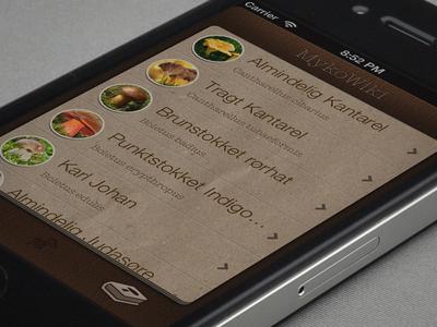 Mushroom app
