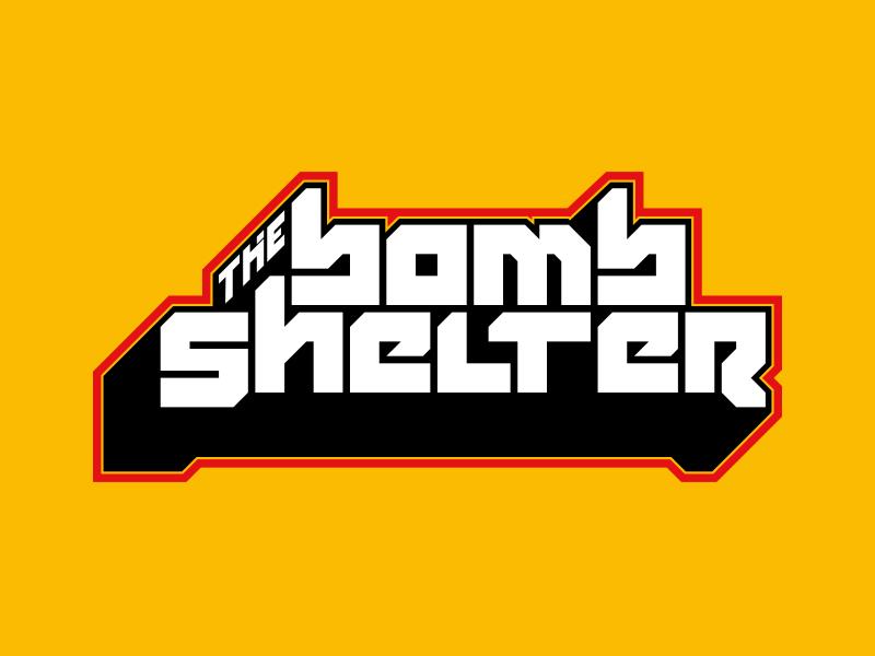 The Bomb Shelter graffiti logo