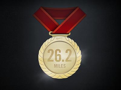 Marathon Medal achievement marathon running
