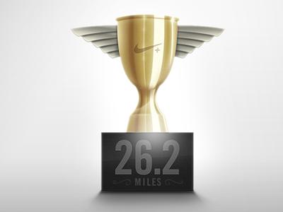 Marathon Trophy achievement marathon running