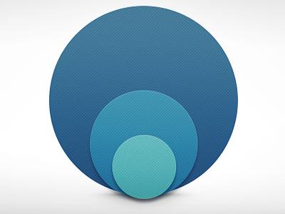 Blue Dots circles texture light