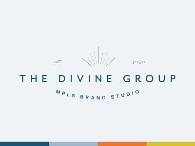 The Divine Group Primary Logo Design + Color Palette design logo logodesign branding design brand identity brand design