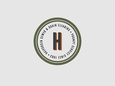 Halvorsen Sewer & Drain Cleaning Submark design branding logo logodesign branding design brand identity brand design