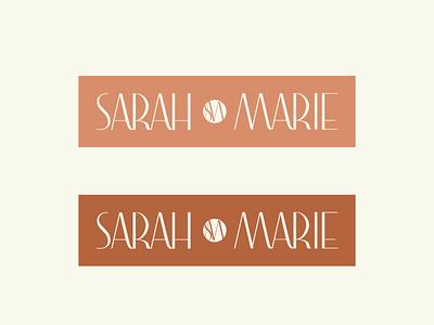 Sarah Marie Secondary Logo Design design branding logo logodesign branding design brand identity brand design