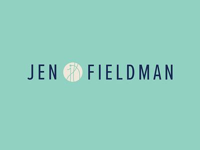 Jen Fieldman Logo Design design branding logodesign branding design brand identity brand design