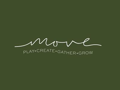 Move Logo Concept branding design branding logo logodesign brand identity brand design