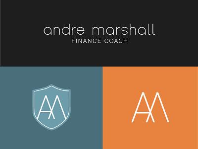 Andre Marshall Finance Coach Logo Concept Suite logo branding logodesign branding design brand identity brand design